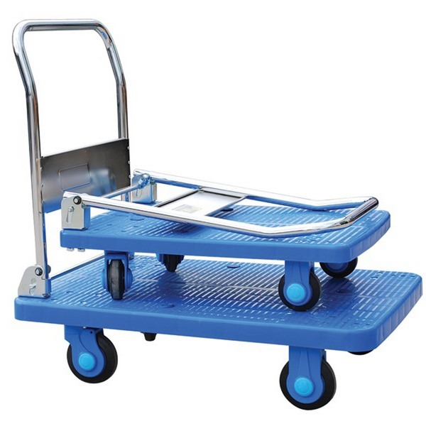 Plastic-base-folding-trolley-1