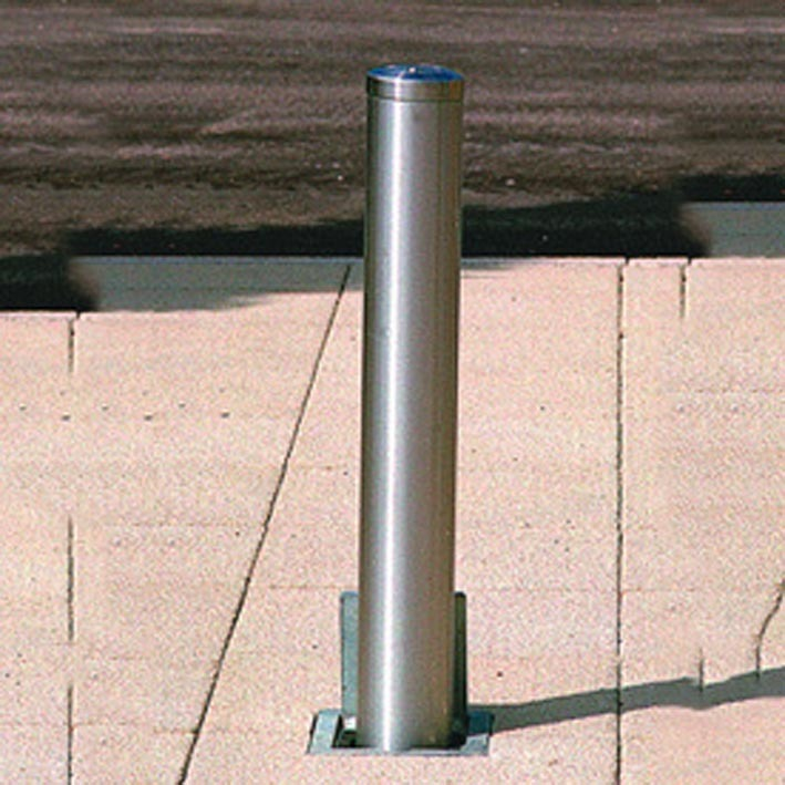 Rhinostainlesssteeltelescopicparkingpost