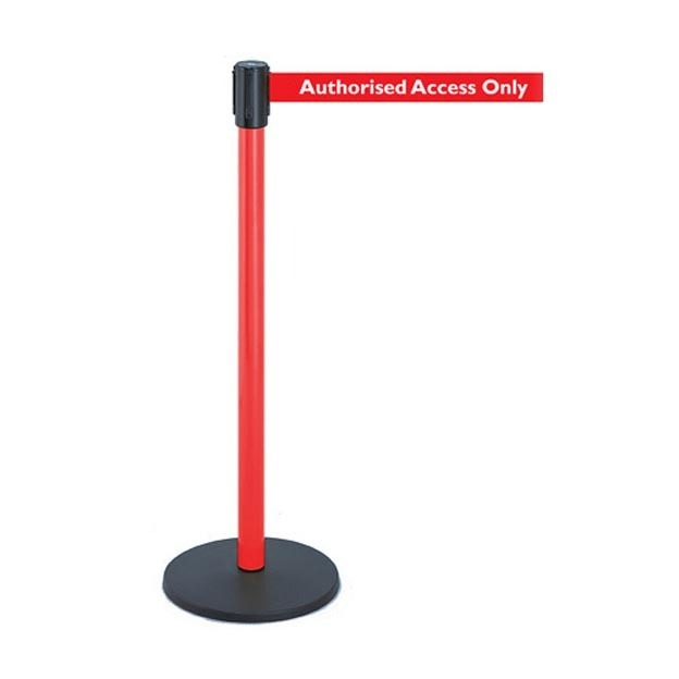 Authorised-access-tape-barrier