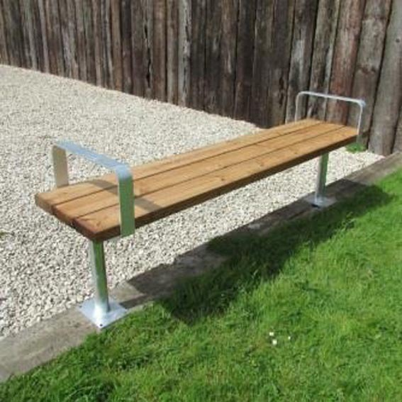 Kensington-backless-bench