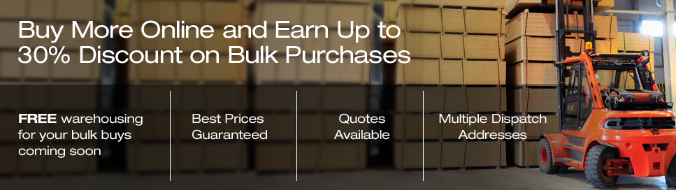 Buy more, Pay less! save up to 30% off with bulk purchases