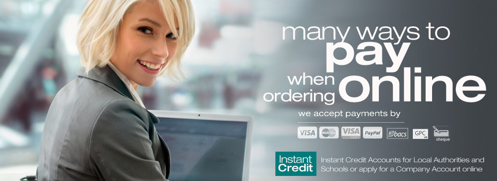 Many ways to pay online